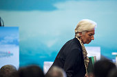 International Monetary Fund ManagingDirector Christine Lagarde attends the G20 Highlevel Tax Symposium during a meeting of G20 finance ministers in...