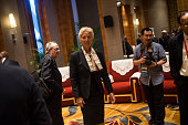 International Monetary Fund ManagingDirector Christine Lagarde waits to take part in the G20 Highlevel Tax Symposium during a meeting of G20 finance...
