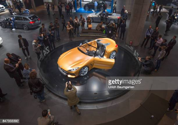 International Motor Show 2017 in Frankfurt An attraction for trade fair visitors the BMW Concept Z4
