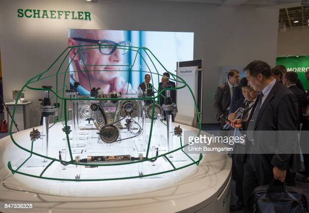 International Motor Show 2017 in Frankfurt Schaeffler automotive supplier at the IAA