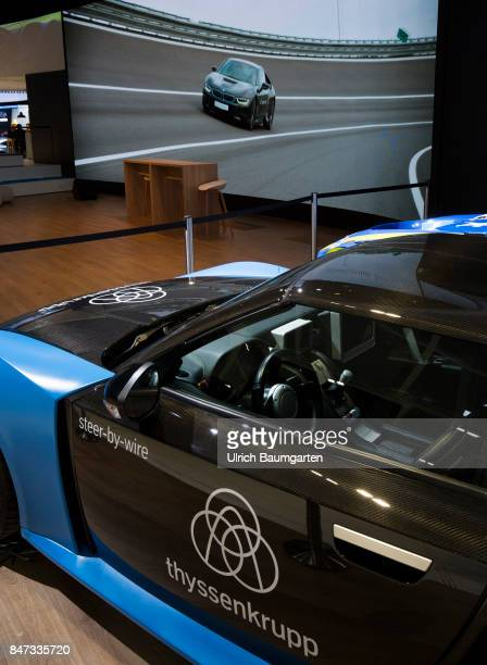 International Motor Show 2017 in Frankfurt ThyssenKrupp Automotive one of the major suppliers to the automotiva industry at the IAA