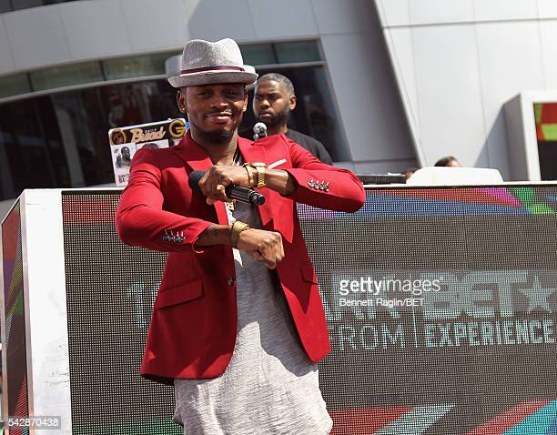 International nominee Diamond Platnumz performs onstage at 106 Park sponsored by Apple Music during the 2016 BET Experience at Microsoft Square on...
