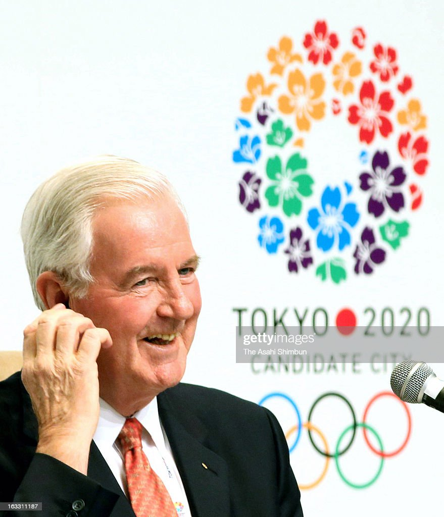 International Olympic Committee (IOC) Evaluation Commission head <a gi-track='captionPersonalityLinkClicked' href=/galleries/search?phrase=Craig+Reedie&family=editorial&specificpeople=2215756 ng-click='$event.stopPropagation()'>Craig Reedie</a> speaks at a press conference after the 2020 Tokyo bid inspection on March 7, 2013 in Tokyo, Japan.