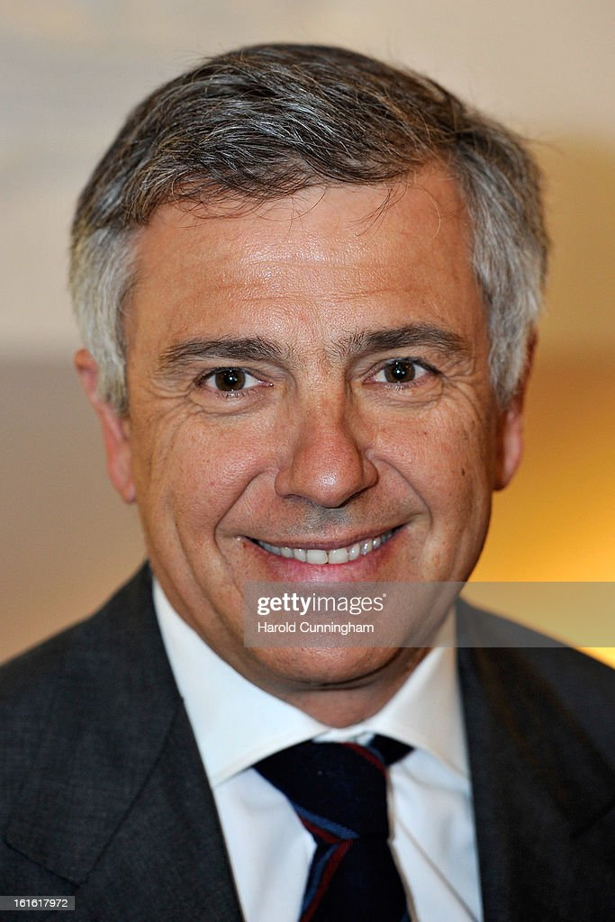 International Olympic Committee (IOC) Executive Board member Juan Antonio Samaranch Jr looks on during the IOC Executive board meeting at the Lausanne Palace Hotel on February 12, 2013 in Lausanne, Switzerland. The two day board meeting is taking place to ensure the relevance of the Games.