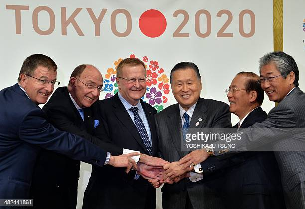 International Olympic Committee executive director Gilbert Felli IOC's vice Chairman of the coordination Commission for the Games of 32th Olympiad...