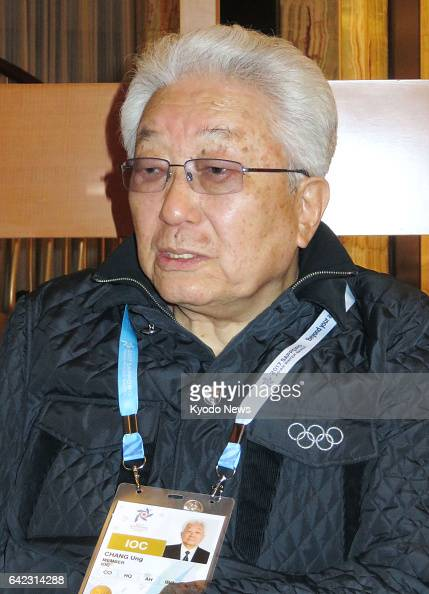 International Olympic Committee member Chang Ung of North Korea gives an interview to Kyodo News in Sapporo on Japan's northernmost main island of...