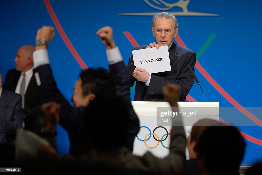 125th IOC Session Buenos Aires - 2020 Olympics Host City Announcement