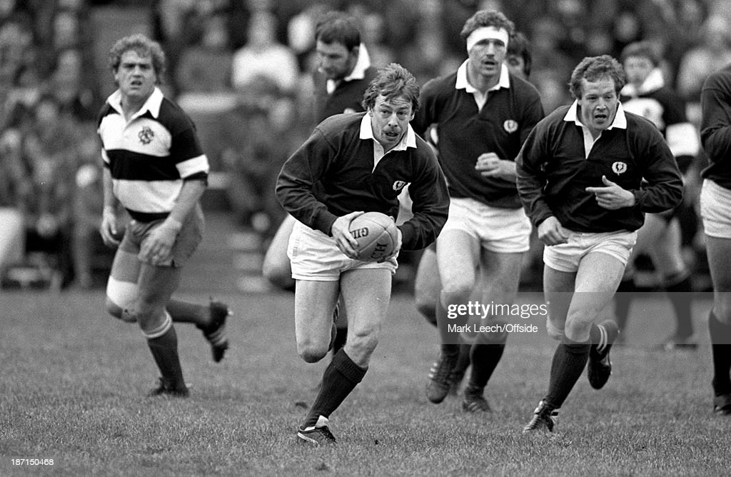 International Rugby Scotland v Barbarians Scottish scrum half Roy Laidlaw