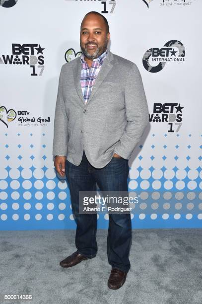 International Senior Vice President and General Manager Michael D Armstrong attends the 2017 BET International Awards Presentation at Microsoft...