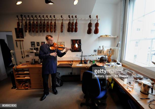 International soloist Philip Dukes performs a recital on one of the rarest instruments in the world the Stradivarius Archinto viola at the Royal...