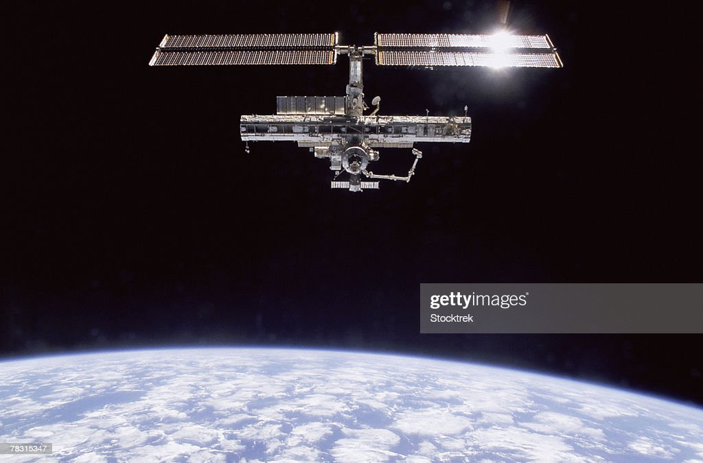 International Space Station in atmosphere
