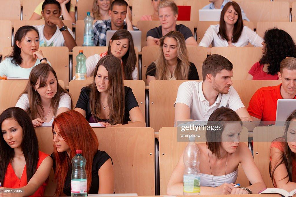 international students auditorium : Stock Photo