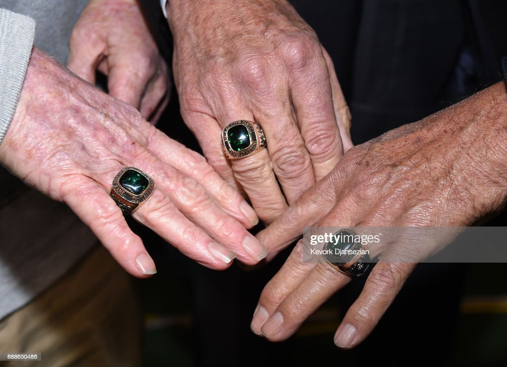 Image result for getty images tennis international hall of fame International Tennis Hall of Famers Rod Laver (L) Stan Smith(C) and Alex Olmedo