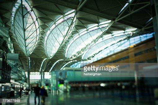 SFO International Terminal Abstract