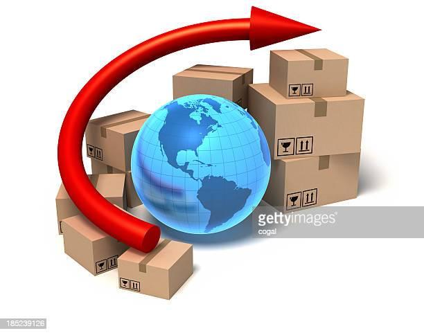 International trade graph