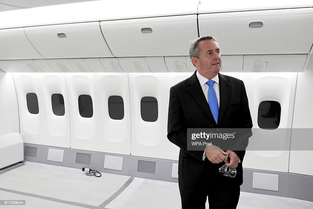 International Trade Secretary Liam Fox Visits Manchester