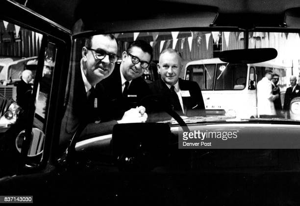 International Unveils 1962 Line Three top officials of International Harvester Co were hosts at a dealer sales meeting at the ShirleySavoy Hotel here...