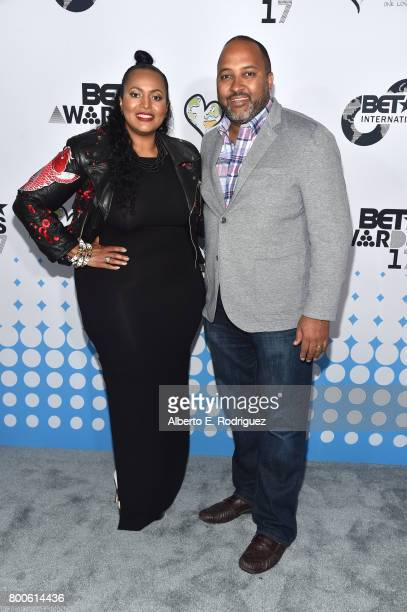 International Vice President Programming Brand Advancement Ava L Hall and BET International Senior Vice President and General Manager Michael D...