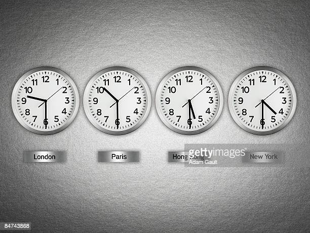 International wall clocks