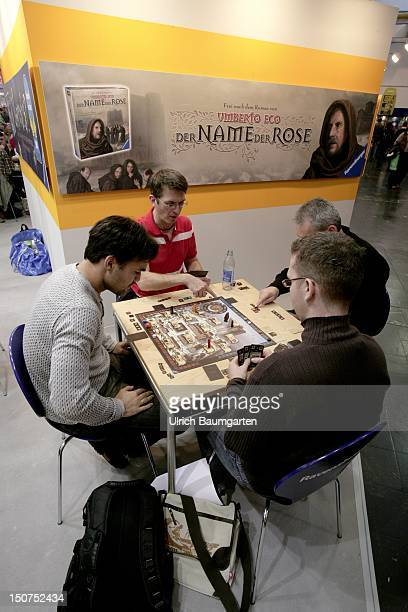 GERMANY ESSEN Internationale Spieltage SPIEL 08 in Essen consumer fair for gaming Our picture shows a novelty on the SPIEL 08 consumer fair for...
