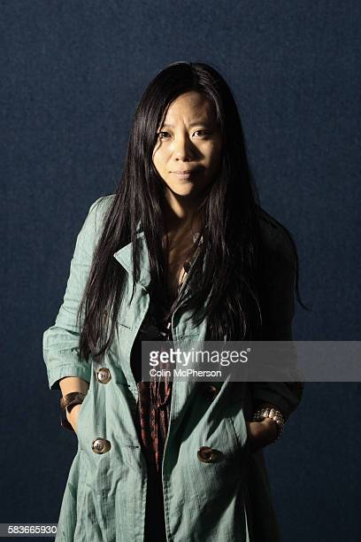 Internationallyacclaimed Chinese filmmaker and author Xiaolu Guo pictured at the Edinburgh International Book Festival where she talked about her new...