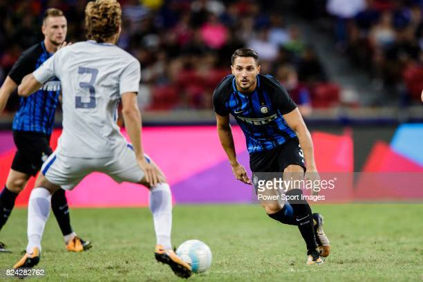 Internazionale Defender Danilo D'Ambrosio in action during the International Champions Cup 2017 match between FC Internazionale and Chelsea FC on...