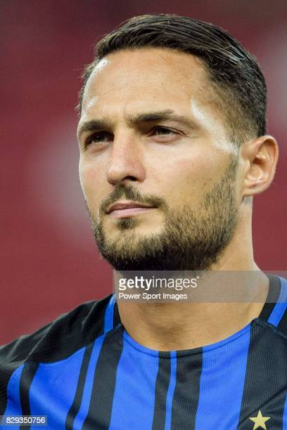 Internazionale Defender Danilo D'u2019Ambrosio getting into the field during the International Champions Cup match between FC Bayern and FC...