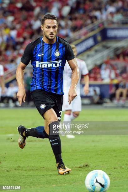 Internazionale Defender Danilo D'u2019Ambrosio in action during the International Champions Cup match between FC Bayern and FC Internazionale at...