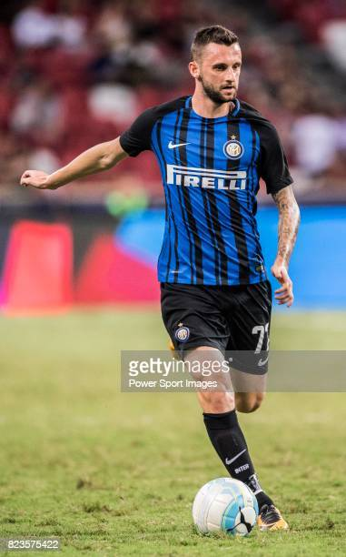 Internazionale Midfielder Marcelo Brozovic in action during the International Champions Cup match between FC Bayern and FC Internazionale at National...