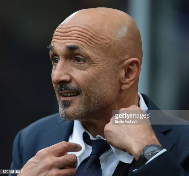 Internazionale Milano coach Luciano Spalletti looks on before the Serie A match between FC Internazionale and Torino FC at Stadio Giuseppe Meazza on...