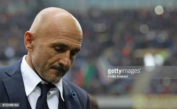 Internazionale Milano coach Luciano Spalletti shows his dejection during the Serie A match between FC Internazionale and Torino FC at Stadio Giuseppe...