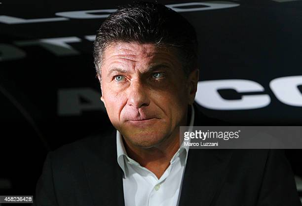 Internazionale Milano coach Walter Mazzarri looks on before the Serie A match between Parma FC and FC Internazionale Milano at Stadio Ennio Tardini...