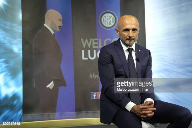 Internazionale Milano new coach Luciano Spalletti during live on Facebook at the Suning training center in memory of Angelo Moratti on June 14 2017...