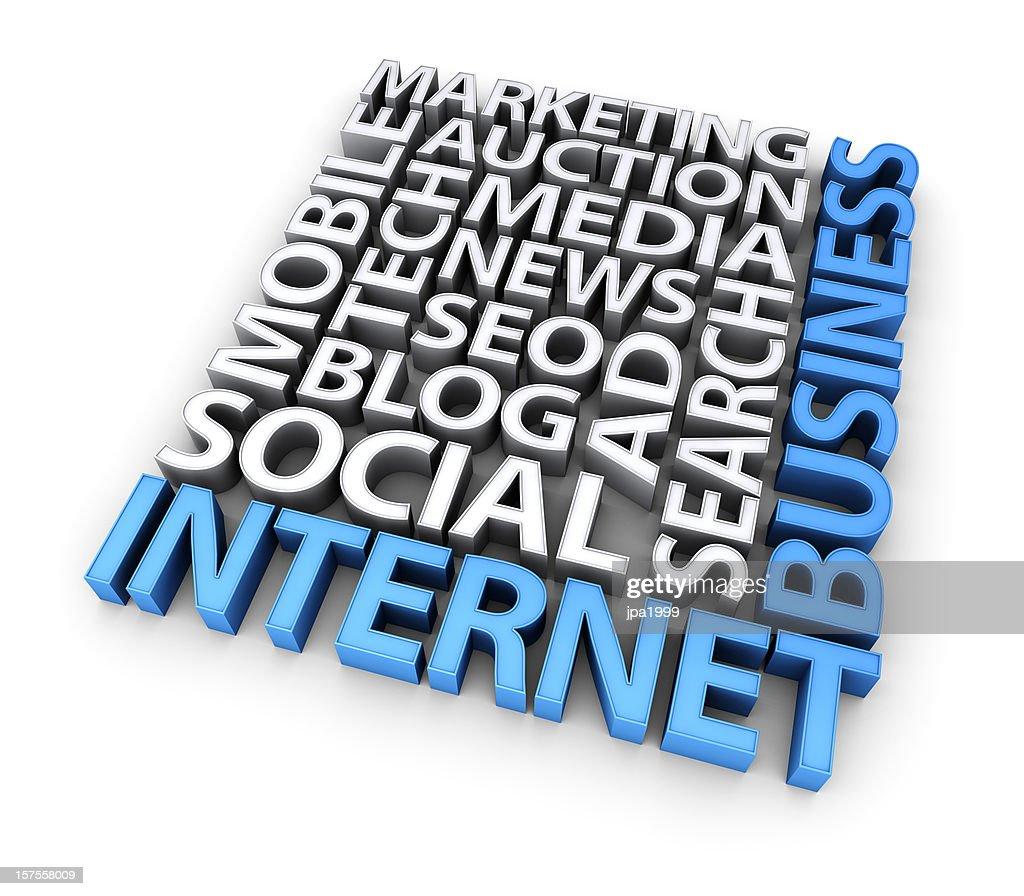 concept d'affaires Internet : Photo