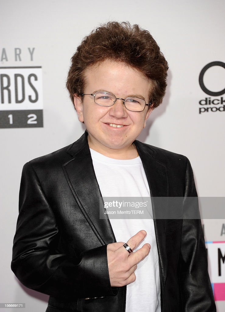 Internet celebrity Keenan Cahill attends the 40th American Music Awards held at Nokia Theatre LA Live on November 18 2012 in Los Angeles California