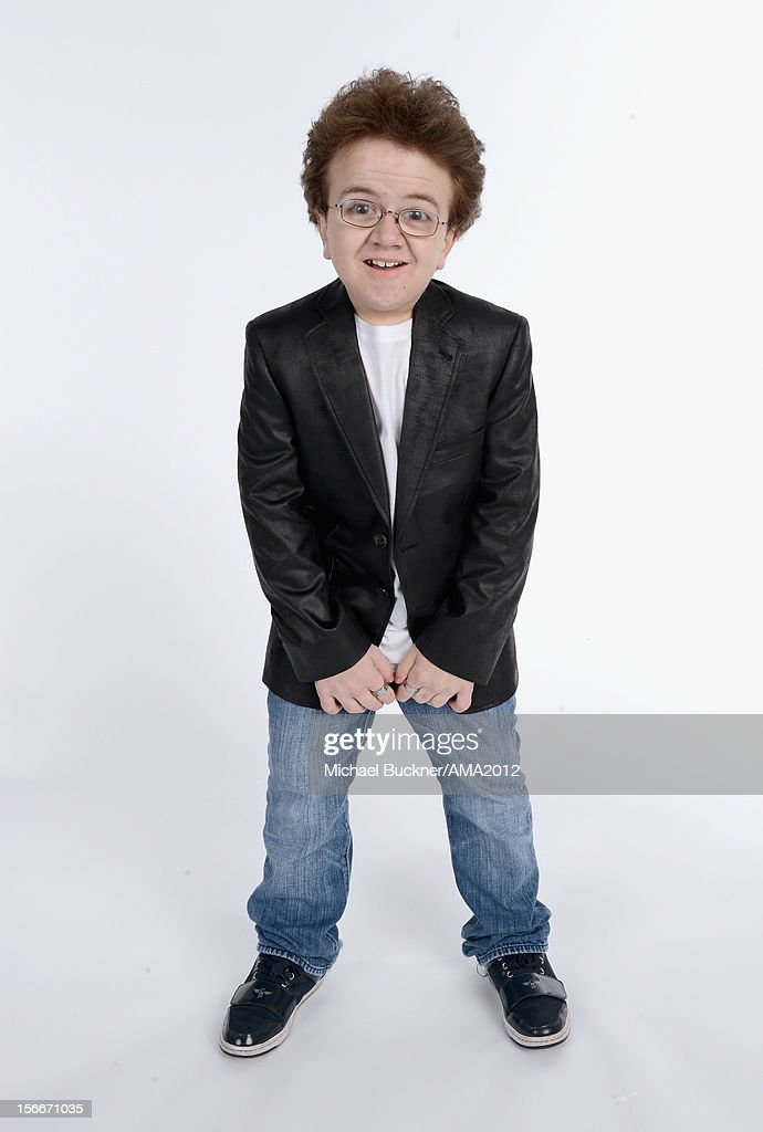 Internet celebrity Keenan Cahill poses for a portrait at the 40th American Music Awards Getty Images Wonderwallcom Portrait Studio held at Nokia...