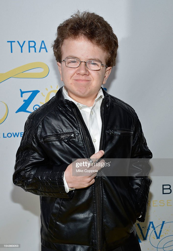 Internet celebrity Keenan Cahill The Flawsome Ball For The Tyra Banks TZONE at Capitale on October 18 2012 in New York City