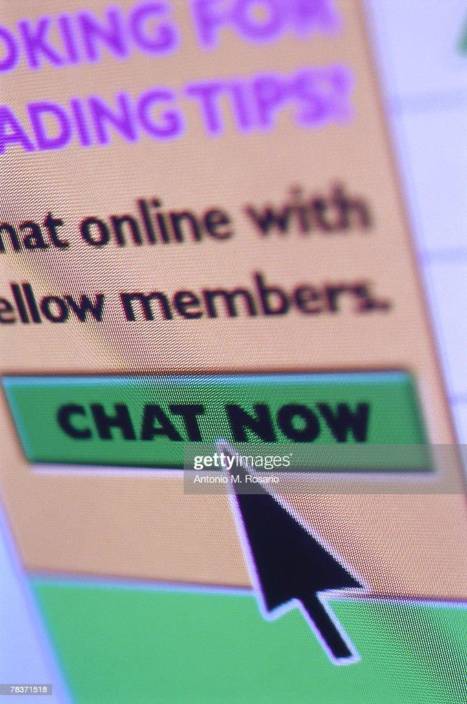 Internet chat icon : Stock Photo