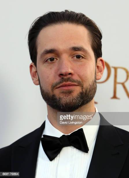 Internet entrepreneur Alexis Ohanian attends the premiere of Open Road Films' 'The Promise' at TCL Chinese Theatre on April 12 2017 in Hollywood...
