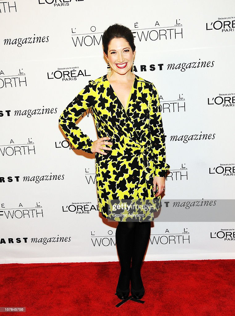 Internet entrepreneur Randi Zuckerberg attends the 7th annual Women of Worth Awards at Hearst Tower on December 6, 2012 in New York City.