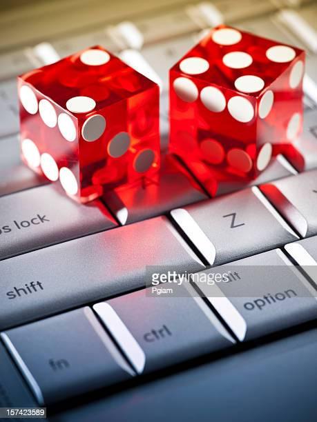 Jogos de azar pela Internet