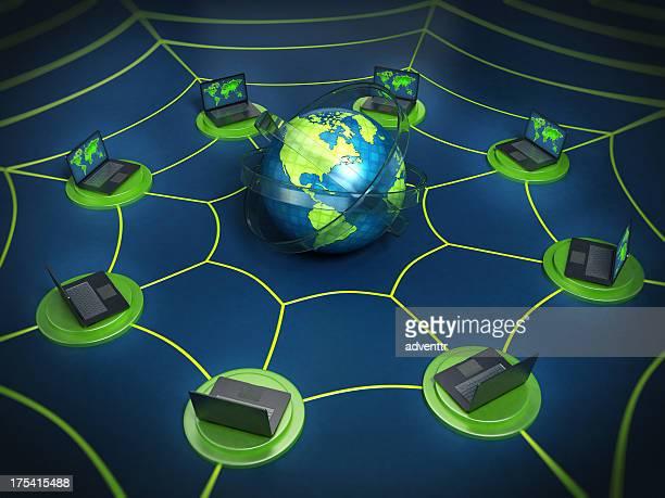 Internet / Global network concept