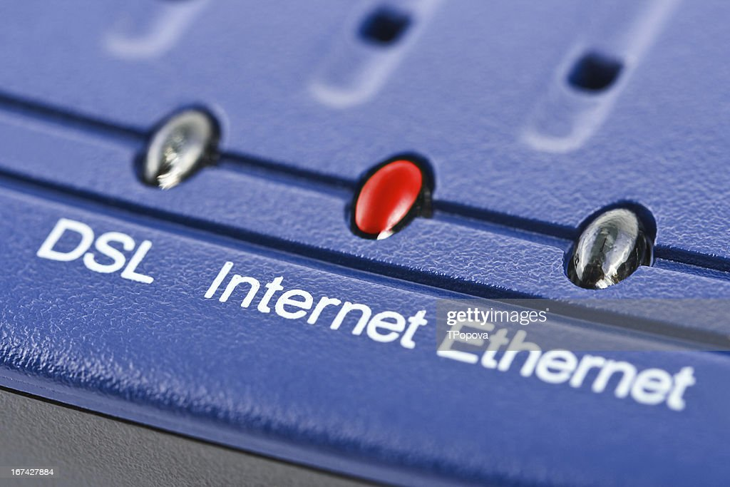 Internet modem : Stock Photo