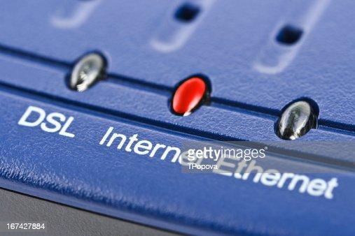 Internet modem : Stock Photo
