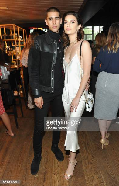 Internet personalities Johnny Zallez and Amanda Steele attend Marie Claire's 'Fresh Faces' celebration with an event sponsored by Maybelline at...