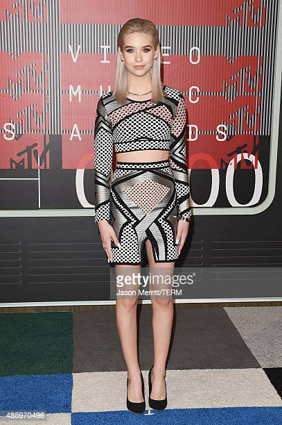 Internet personality Amanda Steele attends the 2015 MTV Video Music Awards at Microsoft Theater on August 30 2015 in Los Angeles California