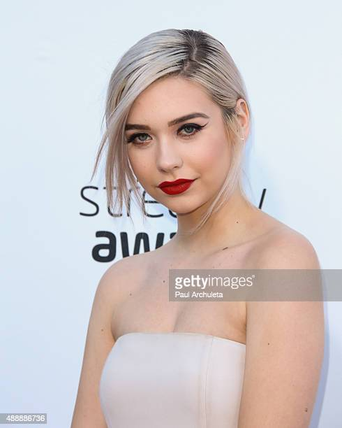 Internet Personality Amanda Steele attends the 5th Annual Streamy Awards at The Hollywood Palladium on September 17 2015 in Los Angeles California