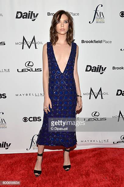 Internet personality Amanda Steele attends the The Daily Front Row's 4th Annual Fashion Media Awards at Park Hyatt New York on September 8 2016 in...