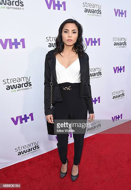 Internet personality Anna Akana attends VH1's 5th Annual Streamy Awards at the Hollywood Palladium on Thursday September 17 2015 in Los Angeles...