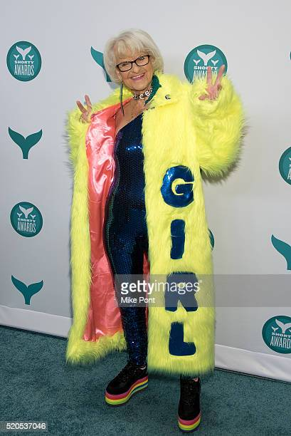Internet personality Baddiewinkle attends the 8th Annual Shorty Awards at The New York Times Center on April 11 2016 in New York City